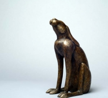 Hare Large Traditional Bronze
